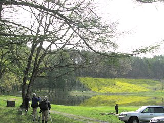 中山高原の荒池